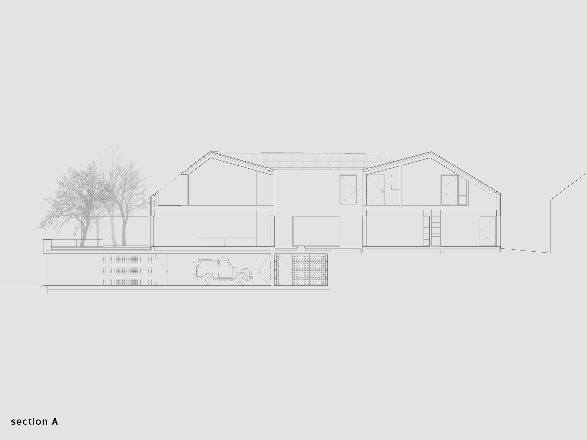 Extrastudio three courtyard house three courtyard house ccuart Choice Image